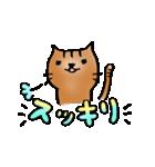 猫のトラタ5 冬(個別スタンプ:31)