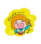 敬語も使える子!おかっぱちゃん♪3(個別スタンプ:01)