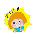 敬語も使える子!おかっぱちゃん♪3(個別スタンプ:09)