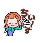 かずこちゃん5 OK!お疲れ様 メインだよ!(個別スタンプ:19)