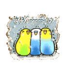 インコちゃん 冬パック(個別スタンプ:03)
