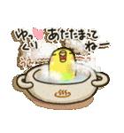 インコちゃん 冬パック(個別スタンプ:07)