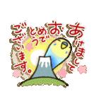 インコちゃん 冬パック(個別スタンプ:34)