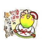 インコちゃん 冬パック(個別スタンプ:36)