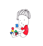4歳の息子(個別スタンプ:2)