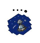 らしくない宇宙人スタンプ(個別スタンプ:26)