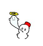 雪だるまの気まぐれ(個別スタンプ:10)