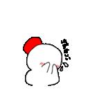 雪だるまの気まぐれ(個別スタンプ:30)