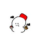 雪だるまの気まぐれ(個別スタンプ:33)