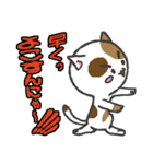 三毛ぬこ こめ&じぇすちゃ(個別スタンプ:38)