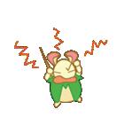 キャラメルランド ネズミ(緑)(個別スタンプ:11)