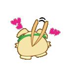 キャラメルランド ネズミ(緑)(個別スタンプ:17)