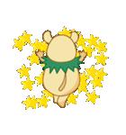 キャラメルランド ネズミ(緑)(個別スタンプ:19)