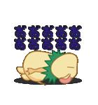 キャラメルランド ネズミ(緑)(個別スタンプ:30)