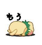キャラメルランド ネズミ(緑)(個別スタンプ:31)