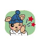 カフェラテと仲間たちの冬物語(個別スタンプ:03)