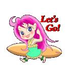 ハワイの天使アネラ(個別スタンプ:16)