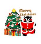 くまモンのスタンプ(クリスマス)(個別スタンプ:01)