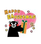 くまモンのスタンプ(クリスマス)(個別スタンプ:07)