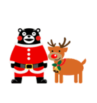 くまモンのスタンプ(クリスマス)(個別スタンプ:16)
