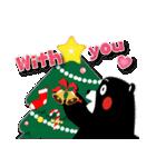 くまモンのスタンプ(クリスマス)(個別スタンプ:25)