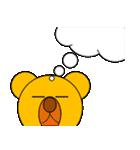 しろくま&黄熊のあけおめ(お正月)&メリクリ(個別スタンプ:32)