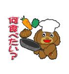 トイプードルのカラフル年中行事&イベント(個別スタンプ:04)