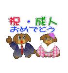 トイプードルのカラフル年中行事&イベント(個別スタンプ:16)
