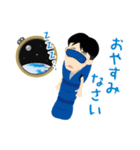 JAXA公式 宇宙飛行士と宇宙ステーション(個別スタンプ:11)