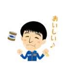 JAXA公式 宇宙飛行士と宇宙ステーション(個別スタンプ:18)