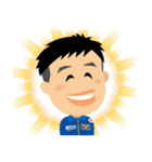 JAXA公式 宇宙飛行士と宇宙ステーション(個別スタンプ:40)