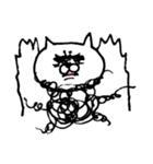 毛の祭典 白猫編(個別スタンプ:12)