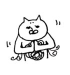 毛の祭典 白猫編(個別スタンプ:18)
