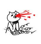 毛の祭典 白猫編(個別スタンプ:20)