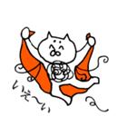 毛の祭典 白猫編(個別スタンプ:39)