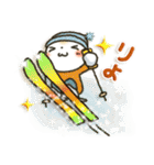 「まるちゃん」Enjoy冬パック(個別スタンプ:05)