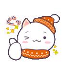 【冬・年末年始用】まるねこ。(個別スタンプ:02)