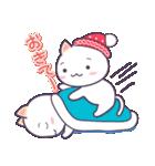 【冬・年末年始用】まるねこ。(個別スタンプ:14)