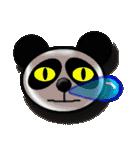 居眠りパンダ1(個別スタンプ:03)