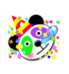 居眠りパンダ1(個別スタンプ:04)