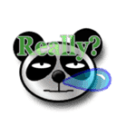 居眠りパンダ1(個別スタンプ:06)