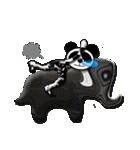 居眠りパンダ1(個別スタンプ:09)