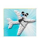 居眠りパンダ1(個別スタンプ:12)
