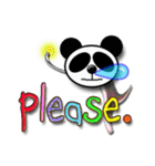 居眠りパンダ1(個別スタンプ:34)