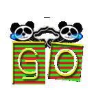 居眠りパンダ1(個別スタンプ:35)