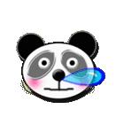 居眠りパンダ1(個別スタンプ:37)