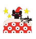 【敬語】北欧風♥大人かわいい黒ネコ(個別スタンプ:03)