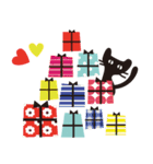 【敬語】北欧風♥大人かわいい黒ネコ(個別スタンプ:38)