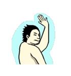 なんか水泳2(個別スタンプ:38)