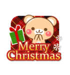 敬語くまさんのクリスマス&お正月(個別スタンプ:07)